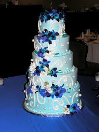 Royal Blue Wedding Cake Designs as for your Wedding Cake to more beautiful look