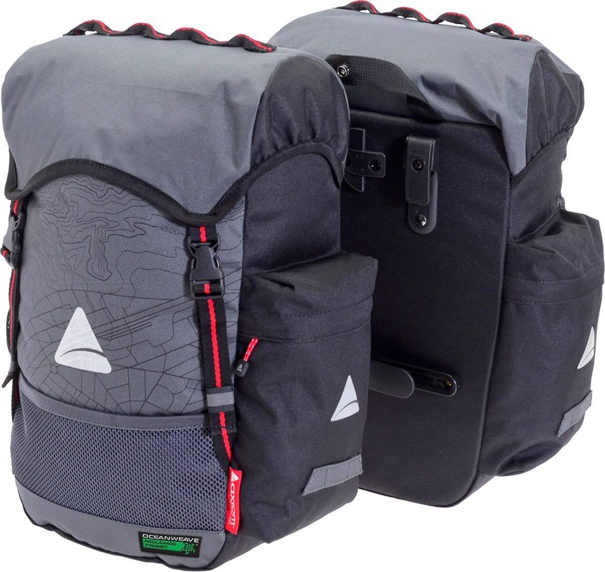 Axiom Seymour Oceanweave P35 Panniers - Gray/Black
