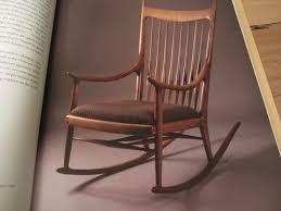 Sam Maloof Rocking Chair Video by David Barron Furniture Sam Maloof Books