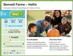 Pumpkin Patch Jacksonville Al by Bennett Farms Heflin Pumpkin Patch Groupon Deal 50 Off Admission