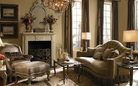 Living Room Glamour Color Schemes With Brown Leather Furniture Great