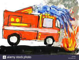 Fire Truck. Child Drawing Watercolor Stock Photo: 86334739 - Alamy Fire Truck Vector Drawing Stock Marinka 189322940 Cool Firetruck Drawing At Getdrawings Coloring Sheets Collection Truck How To Draw A Youtube Hanslodge Cliparts Hand Of A Not Real Type Royalty Free Fireeelsnewtrupageforrhthwackcoingat Printable Pages For Trucks Beautiful Of Free Cad Fire Download On Ubisafe Graphics Rhhectorozielcom Unique Ladder Clip Art Classic Vectors Fire Truck