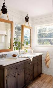Vanity With Farmhouse Sink Rustic French Country Bathroom S Design Wood Master
