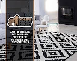 the original gorilla grip non slip area rug pad mattress gripper