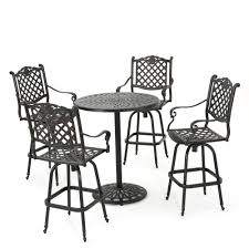 Noble House Willow 5-Piece Aluminum Circular Outdoor Bar Height ... Kingsley Bate Culebra Wicker Rocker Mainstays Willow Springs Outdoor Ding Chair Blue Set Of 5 Coco Cove Light Rocking Products Splendid Just Another Wordpress Site Better Homes Gardens Hawthorne Park Brickseek Chairs Cracker Barrel Antique Click Photos To Enlarge This Maple Tortuga Portside Steel With Navy Cushion Canada Classic Fniture Vintage Used Patio And Garden Chairish Lloyd Flanders Oxford Lounge Wickercom Amazoncom Brylanehome Roma Allweather Stacking