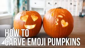 Emoji Pumpkin Carving Designs by Tip Tuesday How To Carve An Emoji Pumpkin Youtube