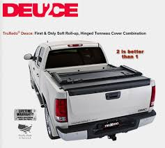 2009-2014 F150 Truxedo Deuce 2 Tonneau Cover 6.5' Bed (w/o Ford ...
