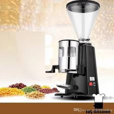 Commercial Electric Coffee Grinder Stainless Steel Professional Bean Double Knife 15kg H