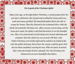 Spider Christmas Poem 06