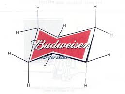 Chair Conformations Of Cyclohexane by I Just Realized That The Budweiser Symbol Is A Cyclohexane Chair