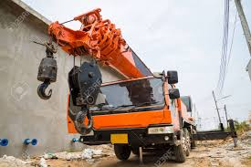 100 Boom Truck Crane Hydraulic Control Stock Photo Picture And