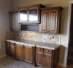 Dining Room Cabinet With Counter And Over Hanging Cabinets Designed Installed By JB Murphy