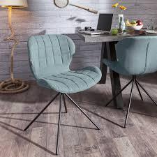 zuiver stuhl omg blau 4 fuß stühle stühle
