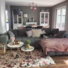 wohnzimmer skandi floral zuhause kuscheli