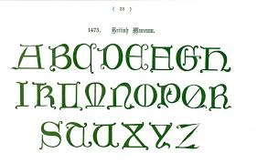 2554 X 1630 In Typography Alphabet