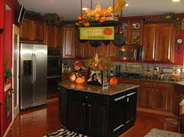 Fall Inspired Kitchen Traditional
