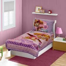 Nickelodeon Paw Patrol Skye 4 Piece Toddler Bedding Set Pink