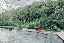 100 Infinity Swimming Human In Bali Pool Photos By Canva