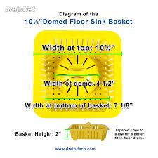 Zurn Floor Sink Covers by Domed Floor Sink Basket 10 5
