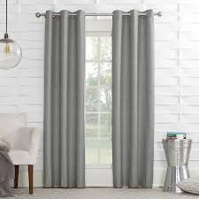 Sound Reducing Curtains Amazon by Amazon Com Sun Zero Randall Linen Texture Thermal Lined Curtain