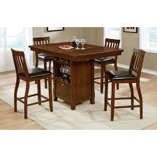 Milton Greens Stars Charlotte 7 Piece Bar Height Pub Table Set ...