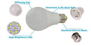 led light bulb parts color changing led light bulb 4000 lumen led
