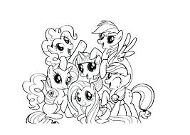Coloring Pages My Little Pony Equestria Twilight Sparkle Page