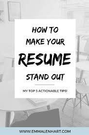 How To Make A Resume Stand Out From Others And Get Job Interviews ... How To Make Resume Stand Out Fresh 40 Luxury A Cover Make My Resume Stand Out Focusmrisoxfordco 3 Ways To Have Your Promotable You Dental Hygiene Resumeat Stands Names Examples Example Of Rsum Mtn Universal Really Zipjob Chalkboard Theme Template Your Pop With This Free Download 140 Vivid Verbs Write A That Standout Mplates Suzenrabionetassociatscom