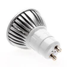 led gu10 base 3w led bulb light dimmable spot l 12v