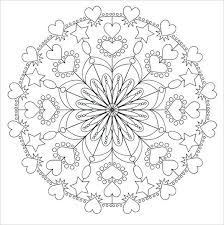 Full Image For Free Online Mandala Coloring Pages Adults Animal Printable