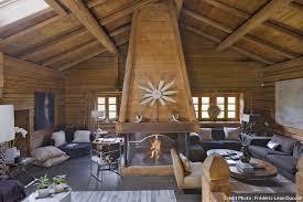 confort au féminin dans un chalet des alpes maison créative