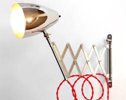 scissor l articulating adjustable steel swing sconce