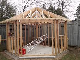 12x12 Storage Shed Plans Free by Five Sided Shed Youtube