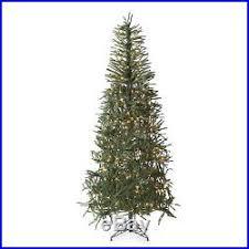 Slim Pre Lit Christmas Trees by Green Christmas Decor World