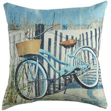 Pier One Patio Cushions by Bicycle Blue Pillow Pier 1 Imports