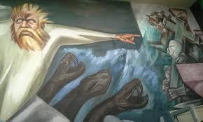 Jose Clemente Orozco Murales by Un Mural De Orozco En El Campus De Una Universidad En New