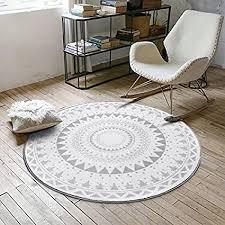 skandinavische geometrische formen trendy familie wind runde teppiche couchtisch schlafzimmer wohnzimmer home computer stuhl drehstuhl teppiche
