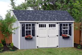8 x 16 utility garden storage deluxe shed plans lean to roof