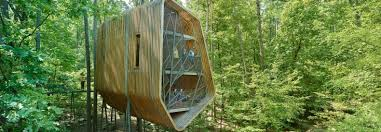 100 Tree House Studio Wood Futuristic Treehouse In Arkansas Is Designed To Inspire Imagination