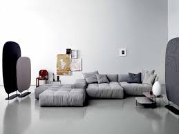 canapé gris design canapé gris 50 designs en nuances grises pour votre salon