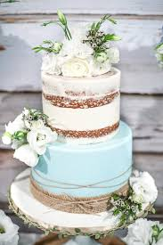 Cake From A Rustic Chic Baby Shower On Karas Party Ideas