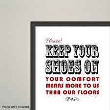 Keep Your Shoes On