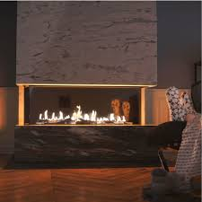 KRATKI POLAND Gas Fireplace 3Sided 200