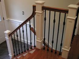 Stair Banisters Style — Railing Stairs And Kitchen Design ... Contemporary Stair Banisters How To Replace Banister Stair Banister Rails The Part Of For What Is A On Stairs Handrail Code For And Guards Stpaint An Oak The Shortcut Methodno Architecture Inspiring Handrails Beautiful 25 Best Steel Handrail Ideas On Pinterest Remodelaholic Diy Makeover Using Gel Stain Wood Railings Best Railing Amazoncom Cunina 1 Pcs Fit 36 Inch Baby Gate Adapter Kit Michael Smyth Carpentry