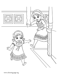 Anna And Elsa Coloring Pages Item 15397