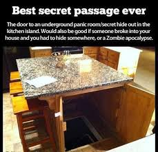Great idea Secret panic room or hiding spot just in case Great