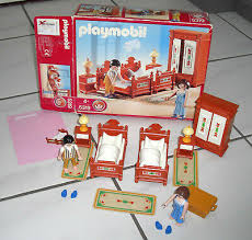 playmobil 5319 nostalgie schlafzimmer ovp ba zu puppenhaus