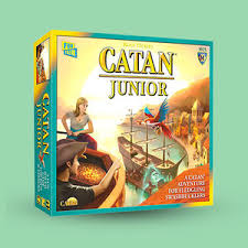 Settlers Of Catan Junior Family Board Game For All Ages