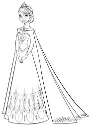 Frozen Coloring Pages Disney Colouring Book Junior