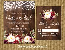 Good Rustic Fall Wedding Invitations And Like This Item 85 Simple